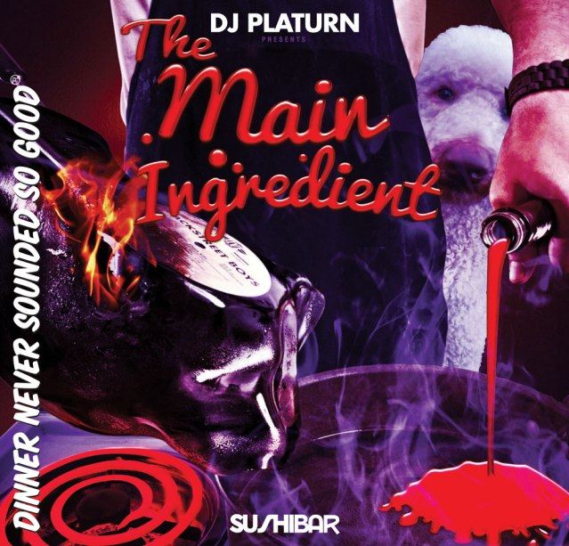 DJ Platurn_The Main Ingredient V.1_Front Cover